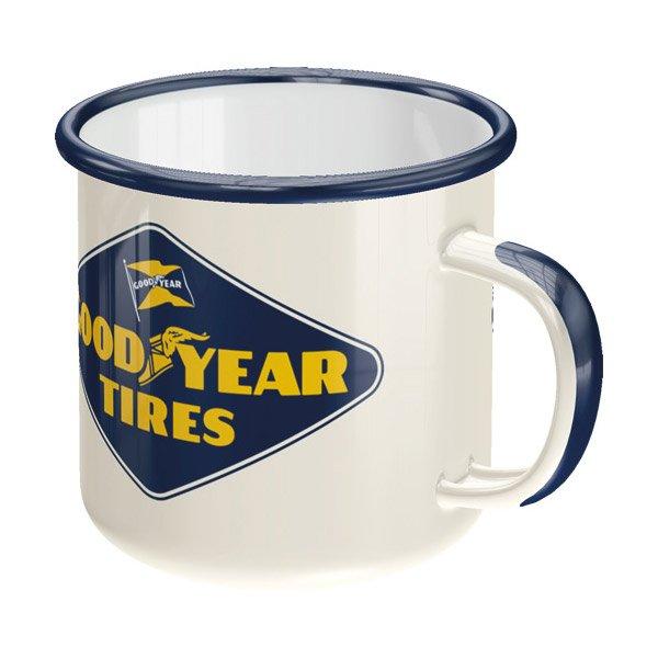 Goodyear Enamel Mug