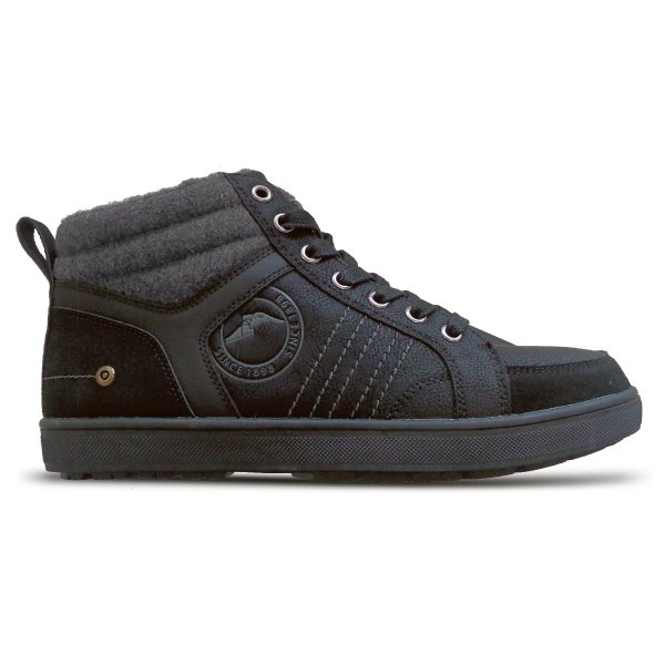 Goodyear High-Cut Lined Sneakers