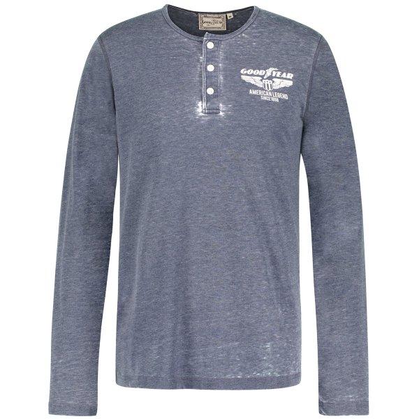"Goodyear Men's Henley Shirt ""Harvey"""