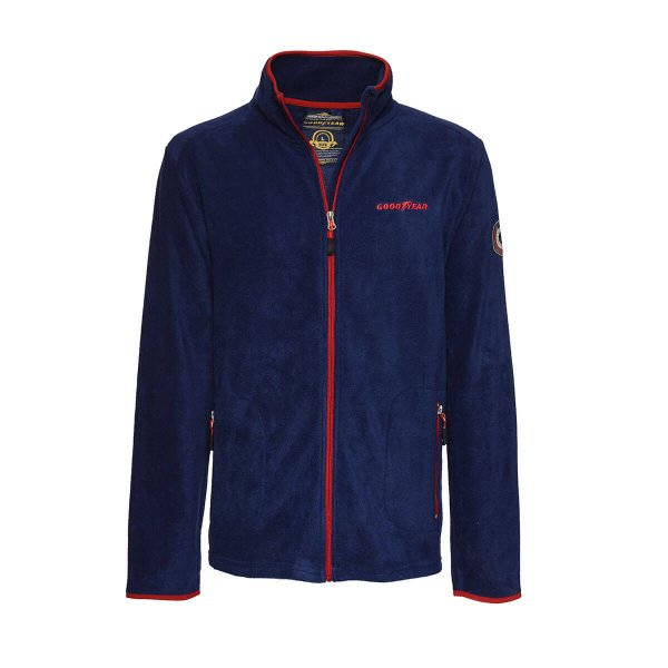 "Goodyear Men's Polar Fleece Jacket ""Tire & Rubber"""