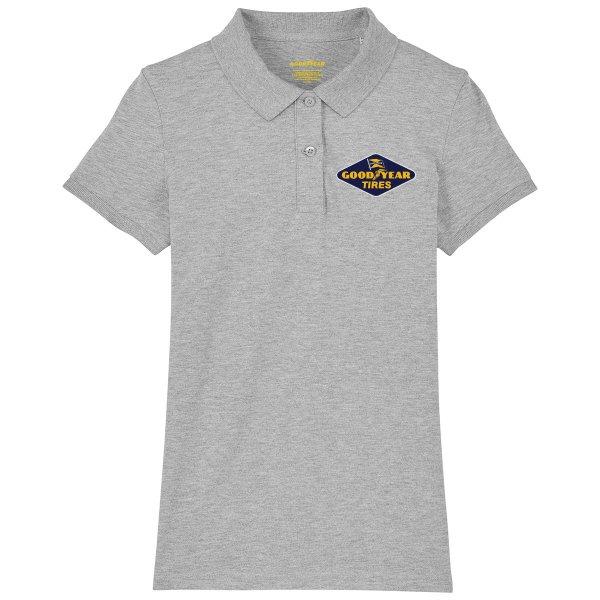"Goodyear Women's Polo Shirt ""Diamond Tires"""