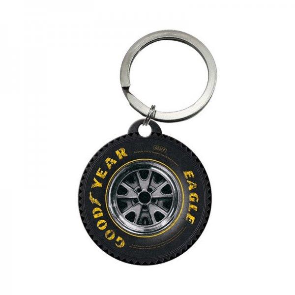 "Goodyear Keychain ""Wheel"""