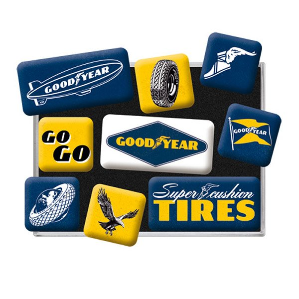 Goodyear Magnet Set (9 pieces)