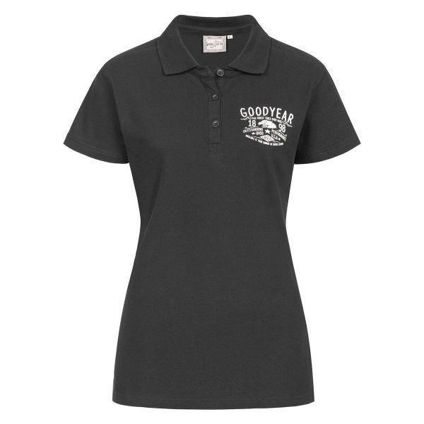 "Goodyear Women's Polo Shirt ""Rosewood"""