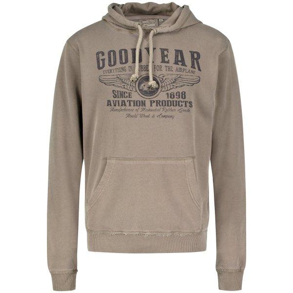 """Goodyear Men's Hooded Sweatshirt """"Dover"""""""