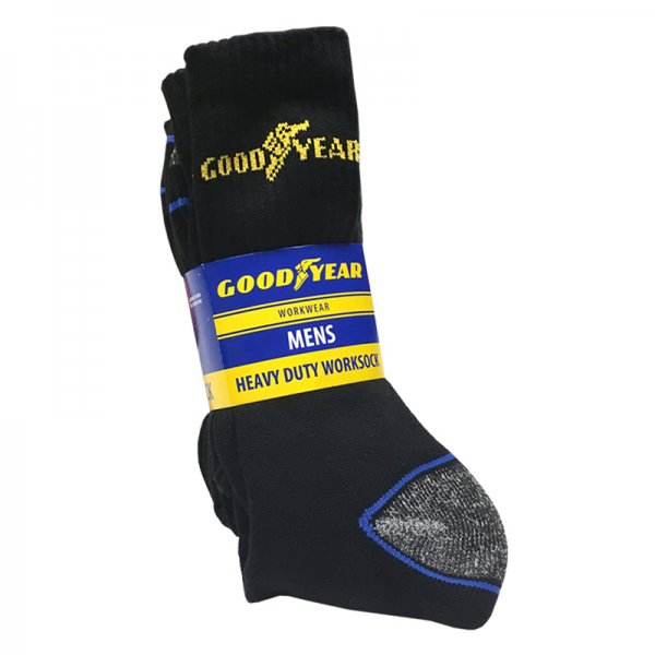 Goodyear Heavy Duty Worksocks (5 pairs)