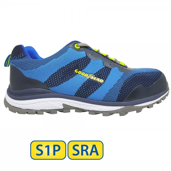 Metal free Goodyear S1P SRA Safety Shoes