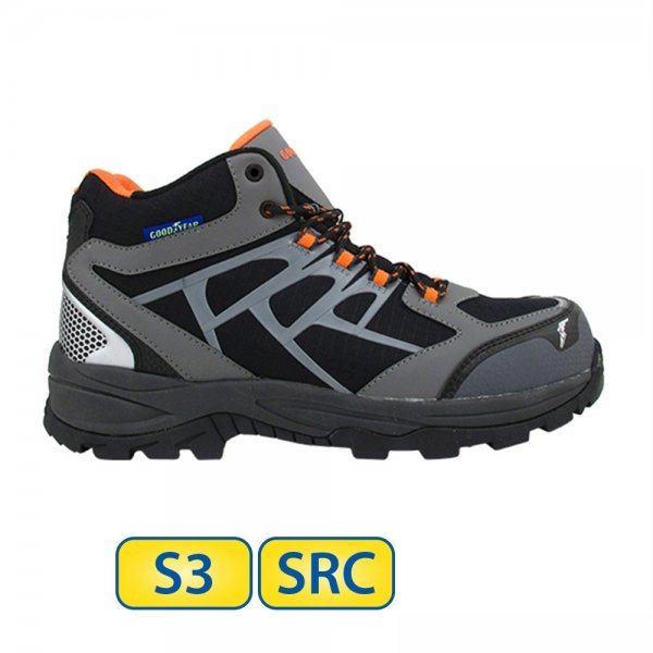 Metal free Goodyear S3 SRC Safety Boots