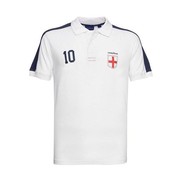 """Goodyear Men's Polo Shirt """"Team England"""""""