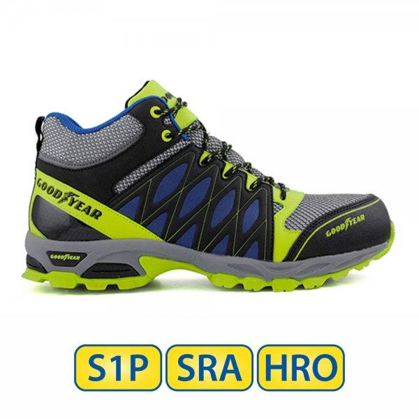 Metal free Goodyear S1P SRA HRO Mid Cut Boots