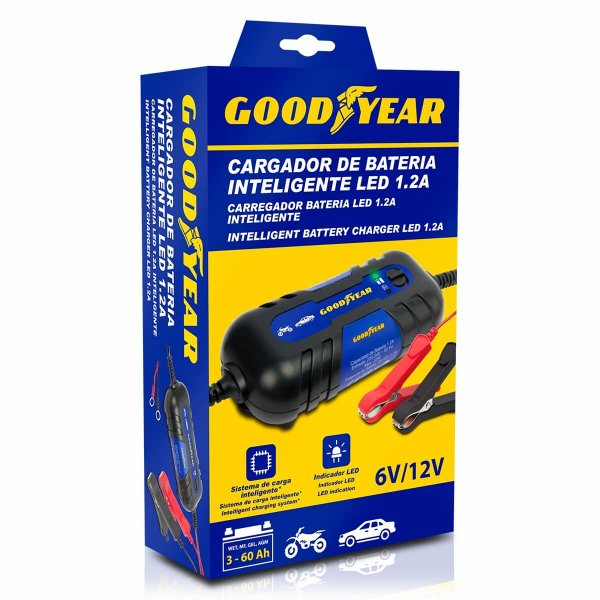 Goodyear Intelligent 1.2 A Battery Charger