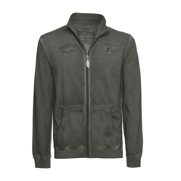 """Goodyear Men's Sweater Jacket """"Emblem"""""""