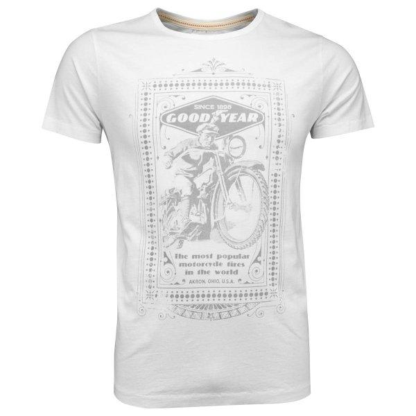 Goodyear Men T-Shirt Motorcycle