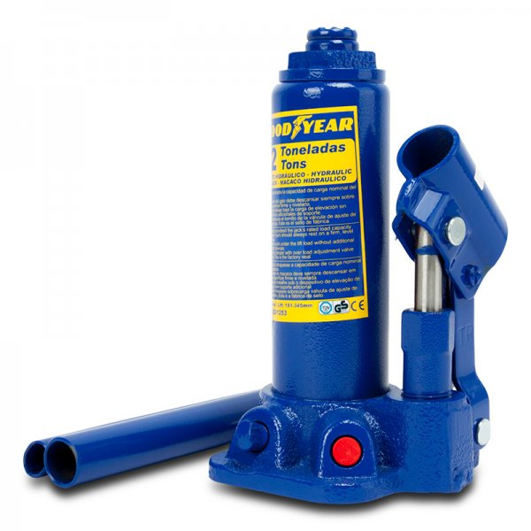 Goodyear Hydraulic Bottle Jack 2 To Assembly And Maintenance