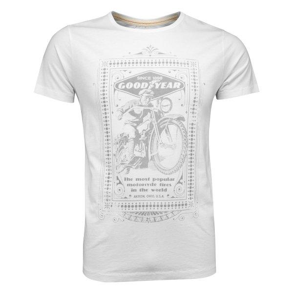 "Goodyear Men's T-Shirt ""Motorcycle"""