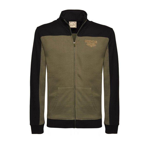 "Goodyear Men's Sweater Jacket ""Aviation"""