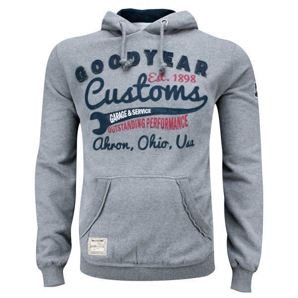 "Goodyear Hooded Men's Sweatshirt ""Oregon"""