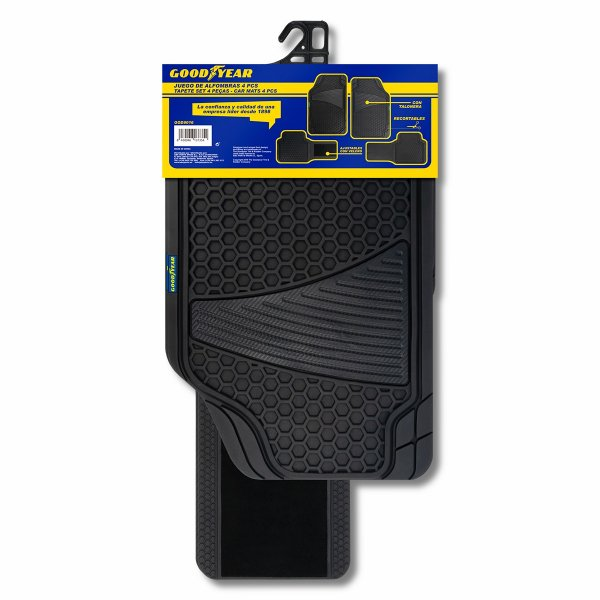 Goodyear Rubber Car Mats (Set of 4)