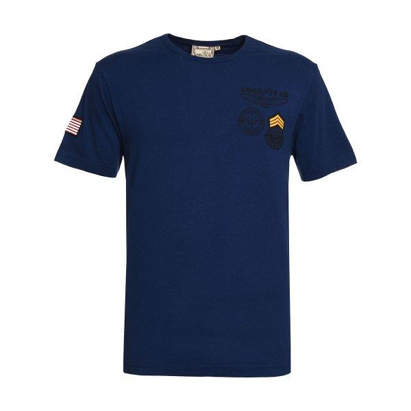"""Goodyear Men's T-Shirt """"Badges"""""""