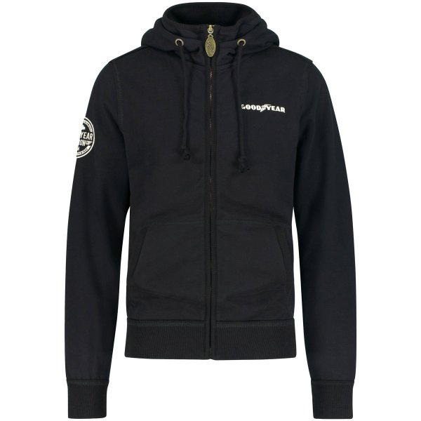 "Goodyear Men's Hooded Sweatjacket ""Richmond"""