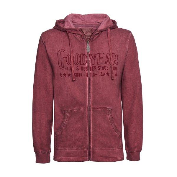 """Goodyear Men's Hooded Zip Sweater """"Akron"""""""