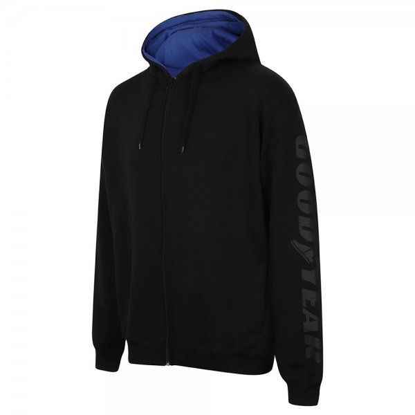 Goodyear Hooded Zip Sweater