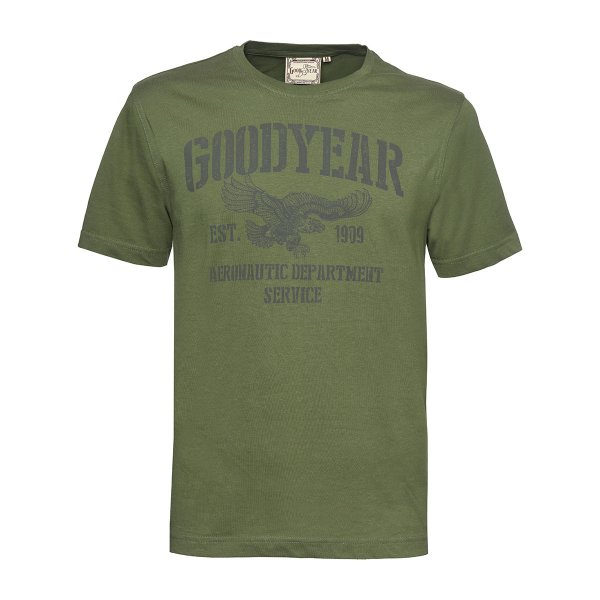 "Goodyear Men's T-Shirt ""Aeronautic Department"""